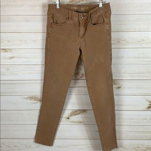 American eagle~ Size 8 stretchy Brown Pants